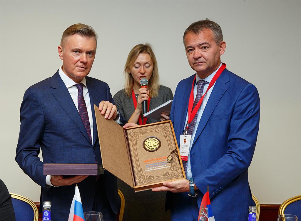 Нотариусы России и Сербии подписали соглашение о сотрудничестве